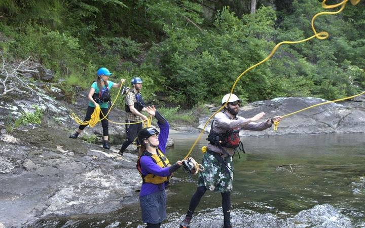 teach outdoor education classes