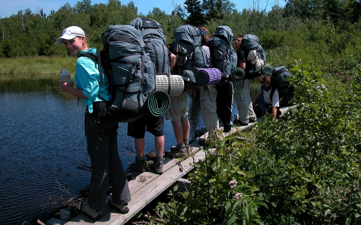 backpacking camps for troubled young adults