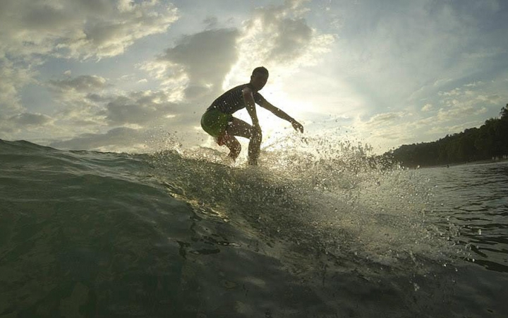 learn how to surf in costa rica with outward bound