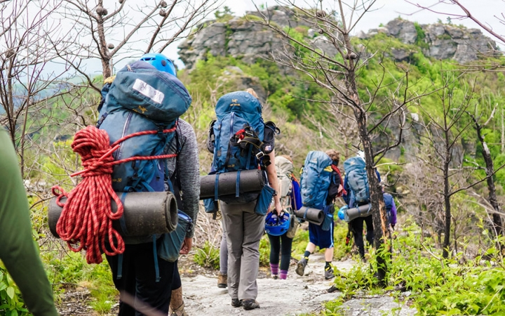 backpacking trip for adults in north carolina