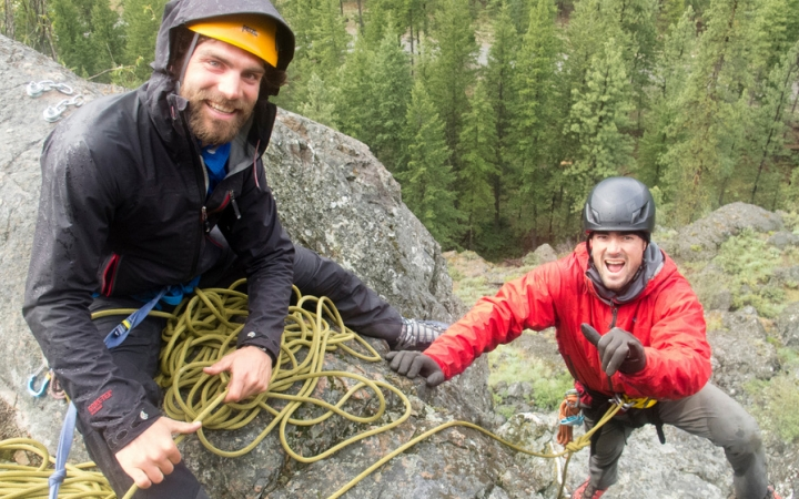 rock climbing wilderness program