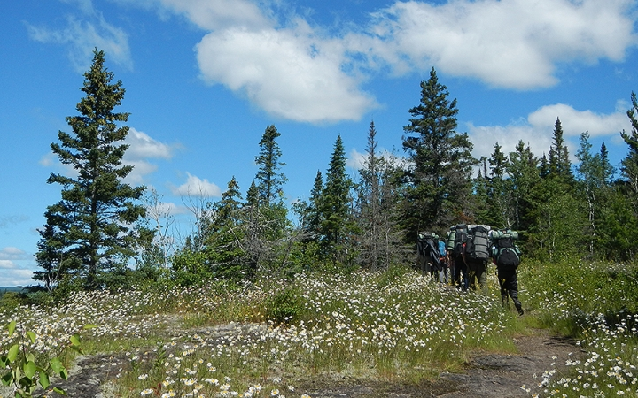 backpacking course for young adults in minnesota