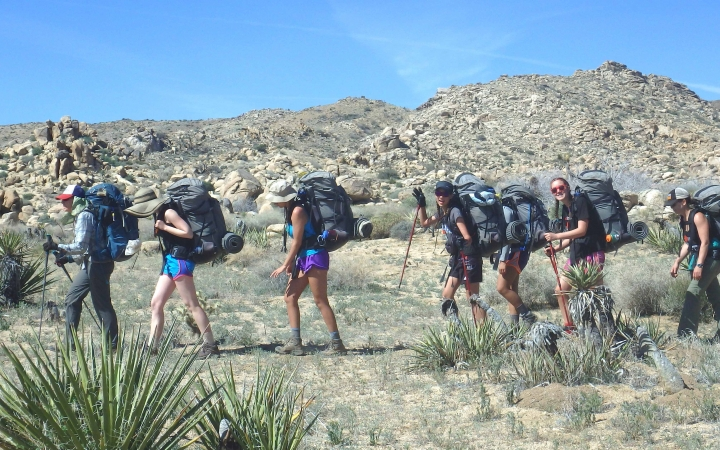 adults only backpacking trip in texas