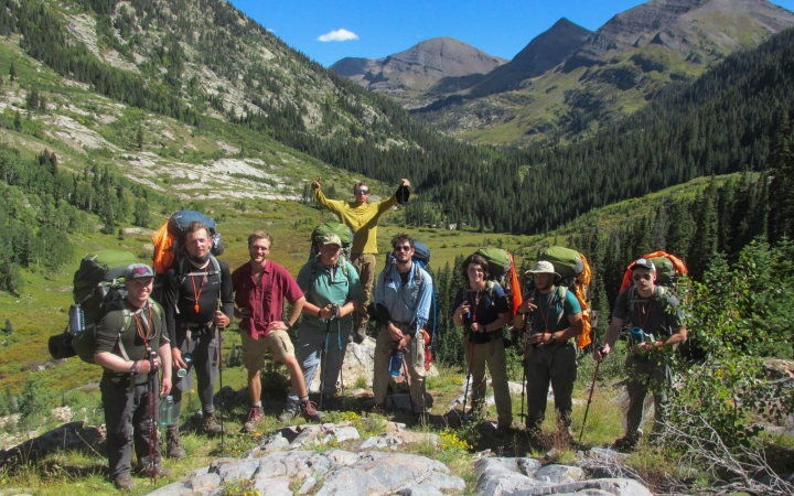 backpacking program in colorado