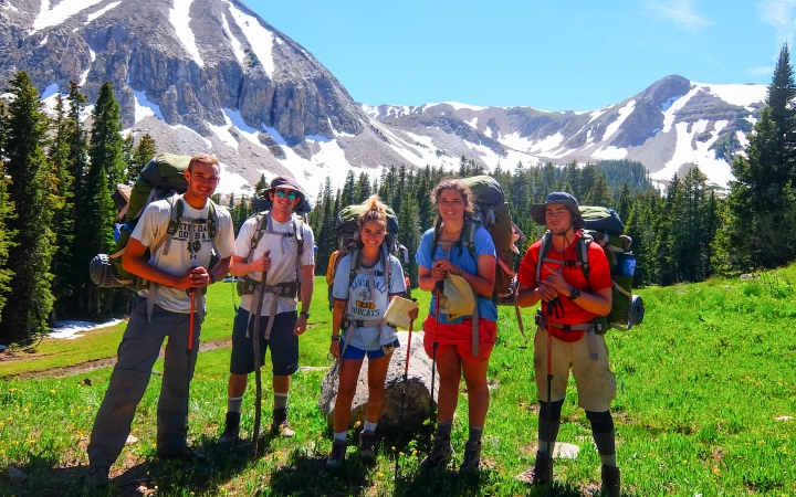 backpacking program for teens
