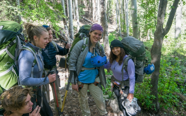 backpacking instruction for teens in the southwest