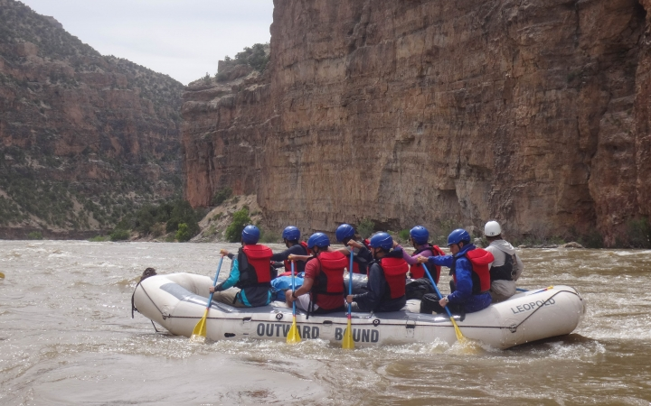 rafting program for teens in the southwest