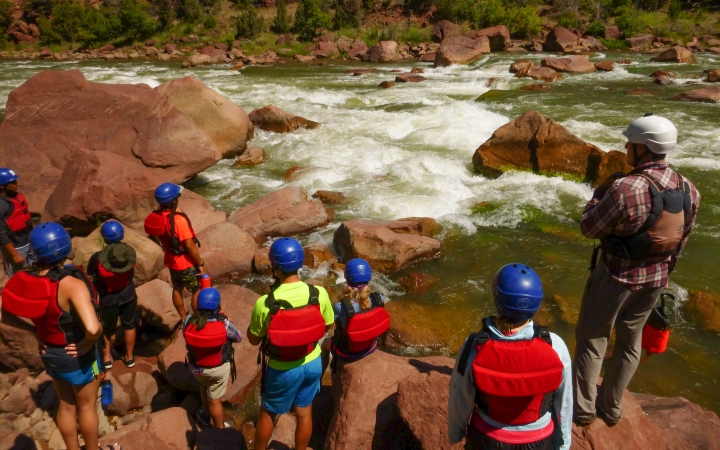 rafting adventure trip for teens in the southwest