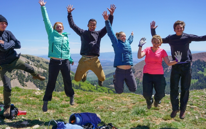 teens develop character on outward bound trip