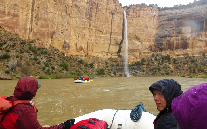 rafting trip for teens in the southwest