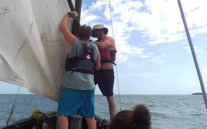 gap year sailing course
