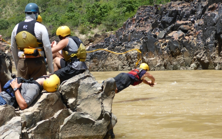 earn Whitewater Rescue certification