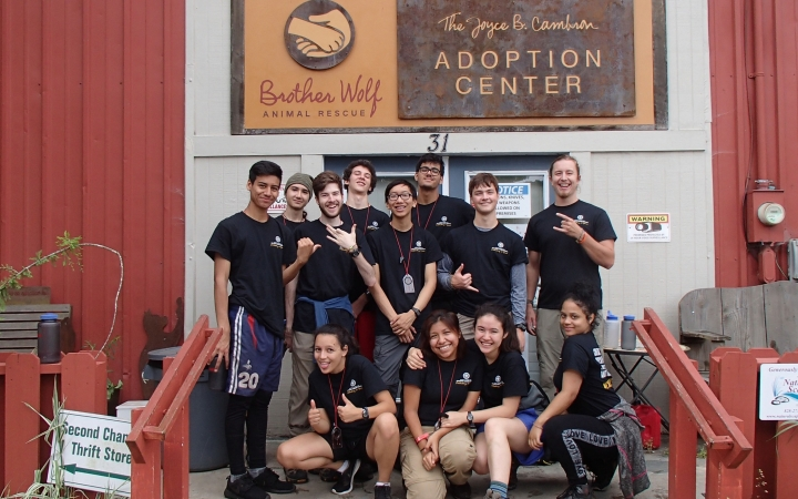 service learning with outward bound