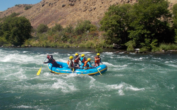 gap year rafting expedition
