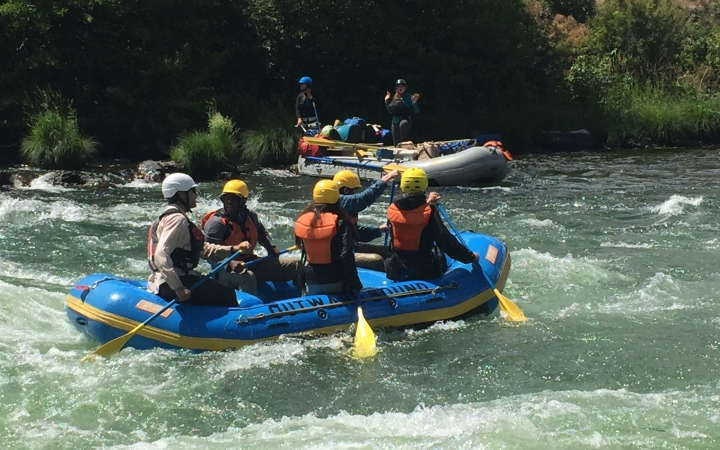 gap year wilderness rafting program