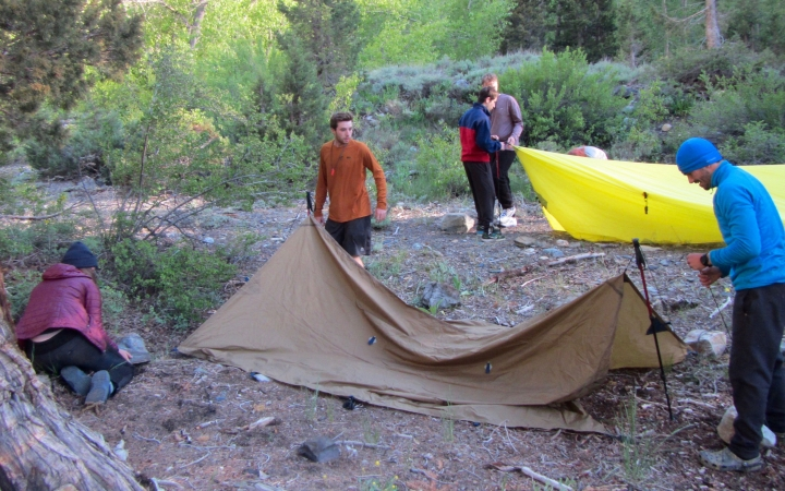 backpacking trip for teens in california