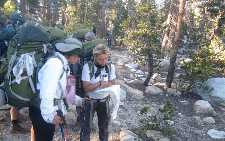 backpacking wilderness program in california