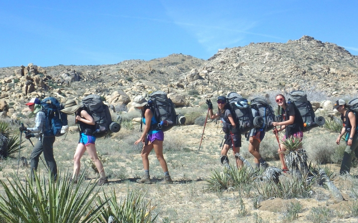 texas big bend backpacking for struggling teens