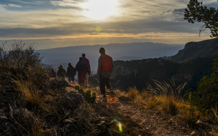 texas big bend backpacking adventure for young adults