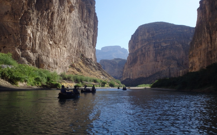 texas big bend whitewater canoeing adventure