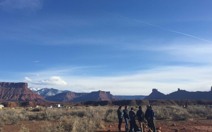 outdoor guide training in the southwest