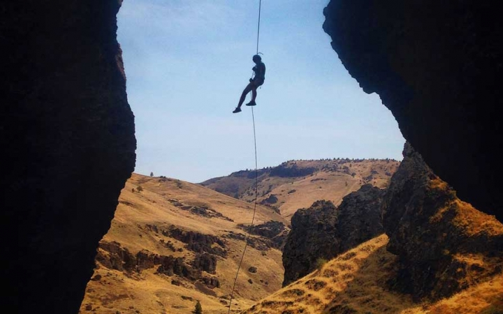 gap year rock climbing program
