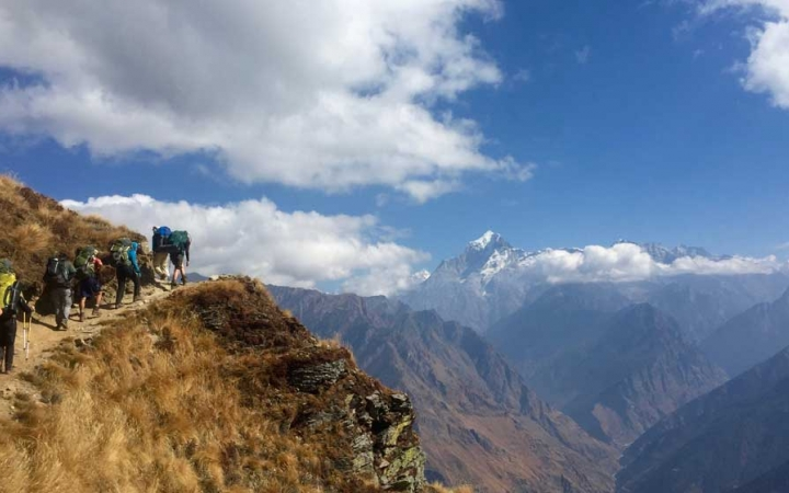 gap year trekking program in india