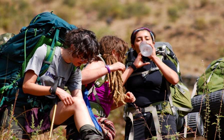 gap year semester trekking program in india