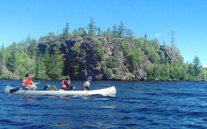 canoeing expedition for struggling teens