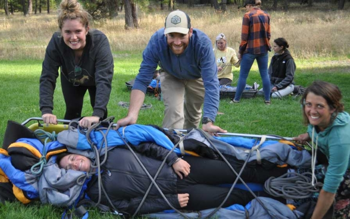 earn WFR on outdoor leadership course