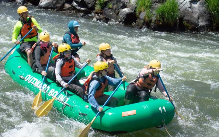 rafting course for lgbtq teens in oregon