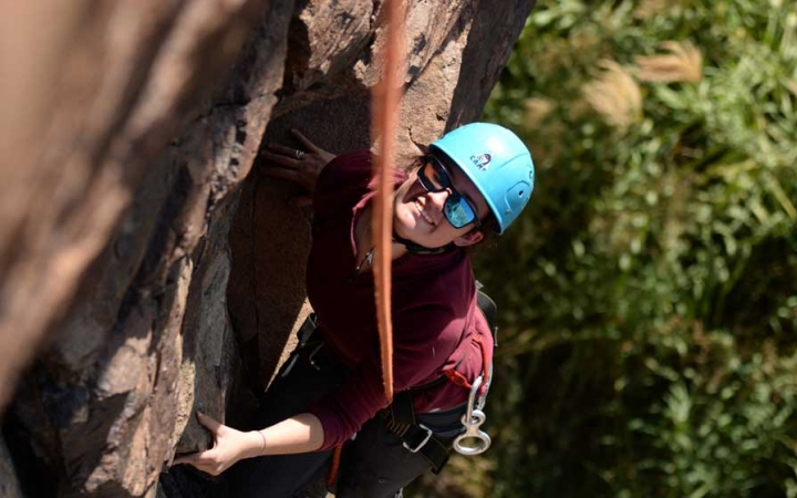 climbing camp for at risk youth