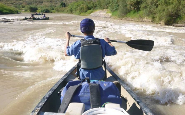 whitewater canoeing big bend outdoor leadership