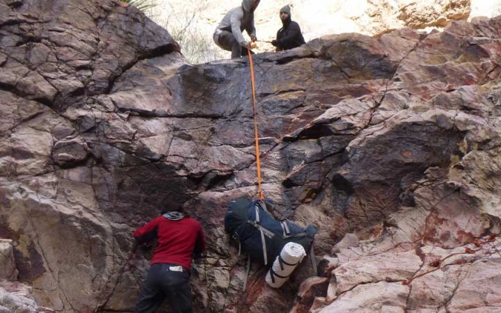 canyoneering course in texas