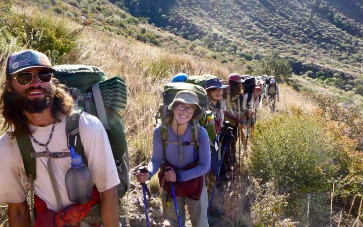 adults only backpacking trip big bend