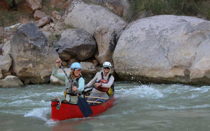 texas big bend whitewater canoeing trip for adults