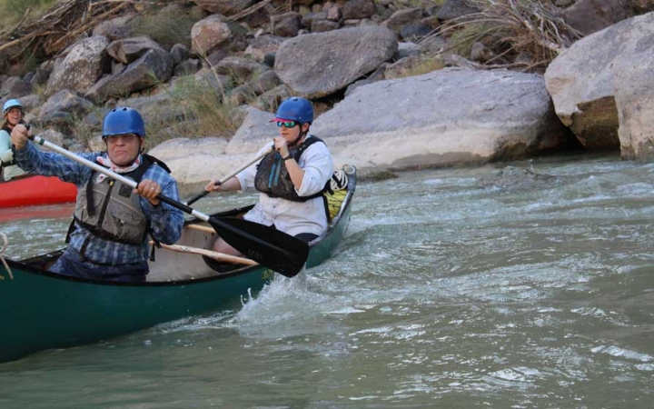 texas big bend whitewater canoeing