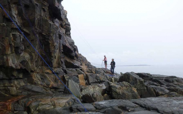 rock climbing trips for adults