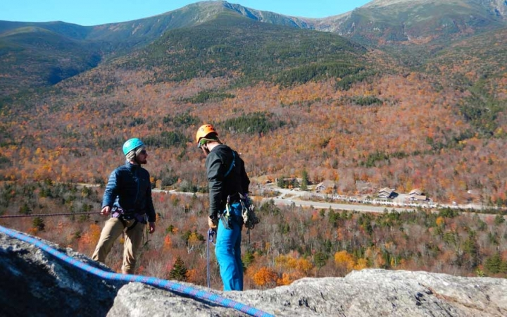 adults escape the daily grind on outdoor adventure