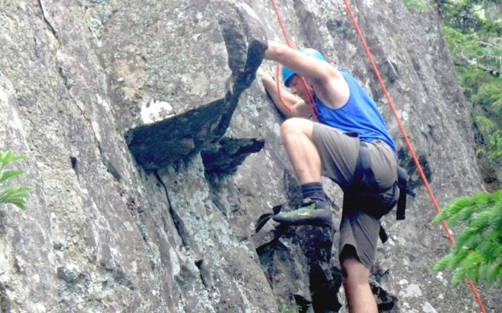 climbing program for adults in maine