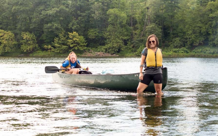 canoeing adventure trip for adults