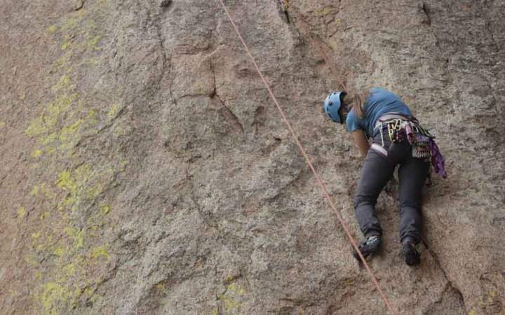 rock climbing program for gap year students